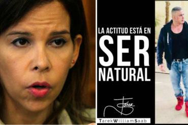 """¡DE FRENTE! Así le tiró Gabriela Ramírez a Saab por lucir su """"musculatura cincuentona"""" y no atender denuncias sobre desnutrición en presos"""