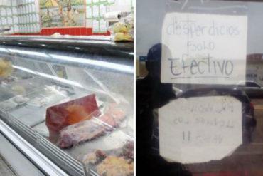 """¡MISERABLE! Una carnicería """"ofrece"""" desperdicios como parte de sus productos (+solo con efectivo)"""