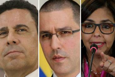 """¡NO SE LO PIERDA! Estos son algunos de los """"berrinches"""" de Delcy Rodríguez, Samuel Moncada y Jorge Arreza en la OEA (Video +cancilleres no pararon de reír)"""