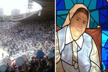 ¡UNA BUENA NOTICIA! La Madre Carmen Rendiles fue beatificada en compañía de una multitud de feligreses (Fotos+Videos)