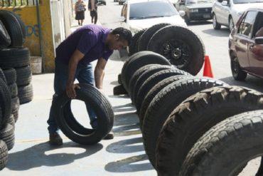 ¡PATRIA! Transportistas optan por comprar cauchos usados para no detener sus vehículos