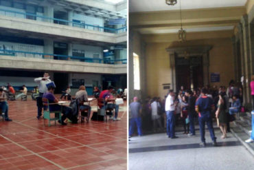 ¡QUÉ TRISTEZA! La ULA amaneció abarrotada de estudiantes en busca de sus papeles para emigrar a otras casas de estudio