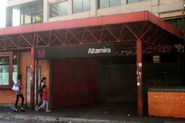 ¡MUY LAMENTABLE! Conocido periodista se quitó la vida en la estación Altamira (estaba en situación de calle)