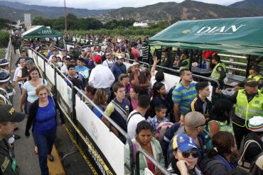 ¡SOLIDARIOS! EEUU aumenta ayuda a Colombia para atender a migrantes venezolanos (vea qué monto aportó)