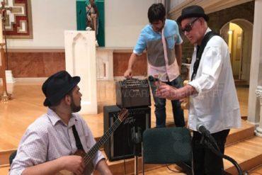 ¡LE CONTAMOS! Yordano junto a músicos venezolanos rindieron homenaje a Evio Di Marzo en Nueva York (+Video)