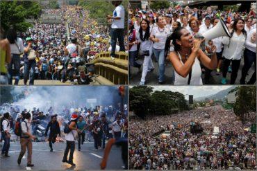 ¡PARA NO OLVIDAR! Las 8 manifestaciones más emblemáticas hechas en rechazo al régimen (no lograron el objetivo)