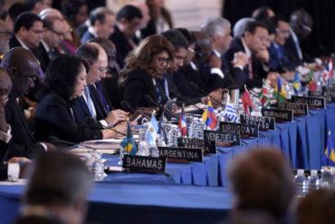 ¡PRESIÓN INTERNACIONAL! Siete países plantean suspender a Venezuela de la OEA