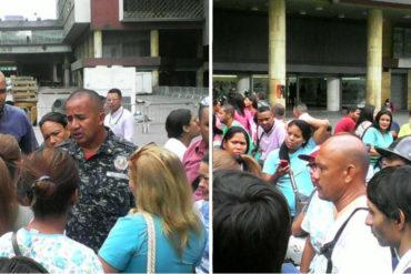 ¡SE PRENDIÓ! Médicos de Barrio Adentro rompieron piquete de la GNB y gritaron quejas al gobierno por bajos salarios (+Video +Fotos)