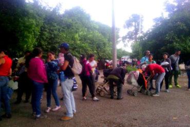 ¡UN CALVARIO! El sufrimiento de los padres venezolanos que deben viajar hasta Cúcuta para vacunar a sus hijos (+Fotos)