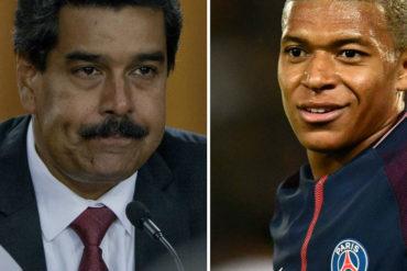 """¡QUÉ MAL FRANCÉS! Maduro mete una pata de las suyas al referirse a este jugador de fútbol (Video + ¿alguien conoce a """"Mampé"""")?"""
