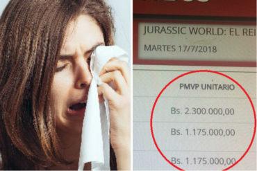 ¡TOCARÁ VER TV! Te dará un patatús cuando veas el precio de las entradas para ir al cine (pulverizó el aumento de Nicolás)