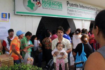 ¡ATENTOS! Colombia aplica medidas migratorias más férreas para frenar ingreso ilegal de venezolanos