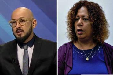 ¡ESO DOLIÓ! El ácido comentario de esta periodista sobre las críticas de Pérez Pirela al gobierno (+auch)