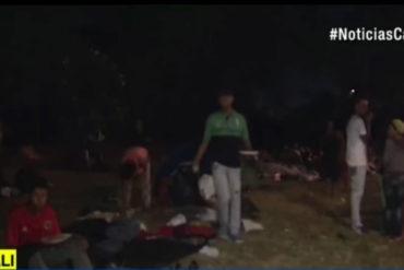 ¡TERRIBLE! Venezolanos caminaron 12 días para llegar a Colombia: la dura travesía se cobró la vida de 2 personas (+Video)