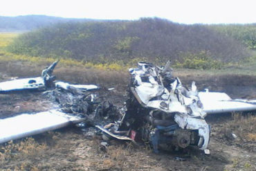 ¡QUÉ HORROR! Tres personas murieron quemadas al estrellarse una avioneta en Falcón (+Fotos fuertes)