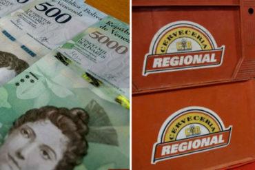 ¡INGENIO CRIOLLO! BirraToday mide la espantosa hiperinflación de Venezuela con cajas de cerveza (+Fotos)