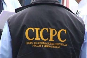 ¡DESALMADO! Cicpc detuvo a hombre que asesinó a su hija de 10 meses por llorar demasiado