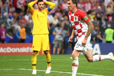 ¡SE LLEVÓ UN SUSTO! El increíble error del portero de Francia en la final del Mundial (+Video)