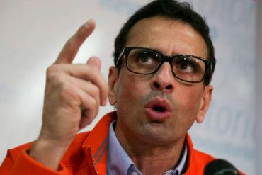 ¡DE FRENTE! Capriles al gobierno: ¡Por Dios, terminen de permitir el canal humanitario de medicinas!