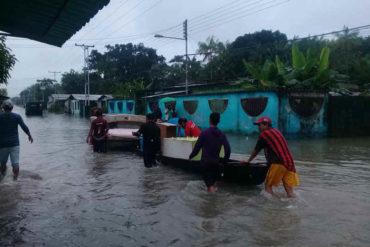 ¡BAJO EL AGUA! Así está San Fernando de Atabapo, en Amazonas, tras crecida del Orinoco (+Fotos)