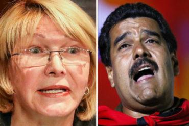"""¡SE LAS CANTÓ! Luisa Ortega Díaz tachó de """"irresponsables"""" acusaciones de Maduro contra Santos"""