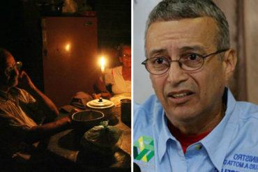 """¡MÁS EXCUSAS! La explicación de Motta Domínguez sobre apagón en Maracaibo: """"Incendiaron el depósito de aceites del Puente sobre el Lago"""" (+Foto)"""