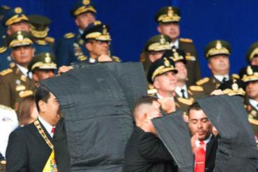 """¡Y SE LO TRAEMOS! El detalle que pocos vieron: Militares del alto mando no movieron un dedo durante """"atentado"""" contra Maduro (+Video)"""