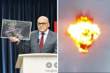 ¡SI TÚ LO DICES! Jorge Rodríguez: Uno de los drones fue explotado de manera remota desde Estados Unidos (+Video)