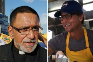¡LE DIERON CON TODO! La petición del Padre Palmar a Lorenzo Mendoza por su Foodtrucks de Harina PAN desató la locura en Twitter