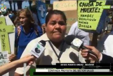 """¡ATENTOS! La grave denuncia de una enfermera en Bolívar: """"Niños desnutridos están llegando muertos al hospital"""""""
