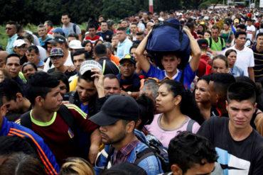 ¡ÉXODO EN MASA! Miles de venezolanos abarrotaron el Puente Simón Bolívar para llegar a Colombia (+Fotos para llorar)