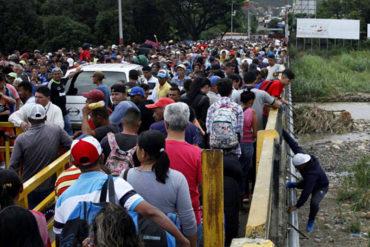 ¡QUE SE SEPA! Colombia dice que no puede soportar sola la llegada de miles de venezolanos empujados por la crisis