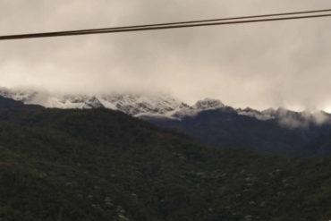 ¡SE LAS MOSTRAMOS! Espectaculares fotos de la nevada que cayó en el páramo La Culata y la Sierra Nevada de Mérida