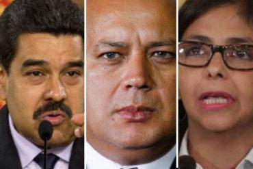 ¿CÓMO ASÍ? La perla que soltó Soto Rojas: Maduro, Cabello y Delcy Rodríguez no deben aparecer juntos en público (+Video)