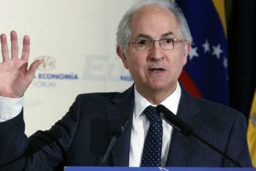 """¡LO VOLVIÓ A REPETIR! Antonio Ledezma tras la reunión del TIAR: """"Todas las opciones están sobre la mesa"""""""