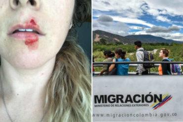 """¿XENOFOBIA? Extranjera denuncia ataque de venezolano: """"Delincuencia de Venezuela se vino a j*der a otros países"""""""