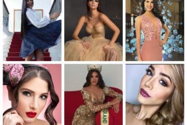¿GANAREMOS CORONAS? Las misses que nos representarán en los certámenes internacionales de belleza más importantes de 2018 (+Fotos)