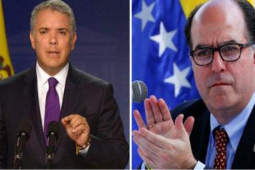 """¡SEPA! Borges agradece a Duque por no extraditarlo y dice que busca consenso para que se consideren """"todas las opciones"""" contra Maduro"""