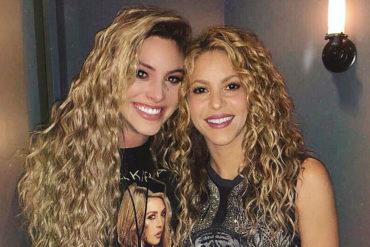 ¡LINDO MOMENTO! La venezolana Lele Pons lloró como una niña cuando conoció a Shakira: Vea cómo fue el momento (+Video)