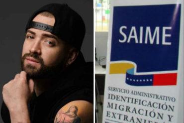 """¡CLARITO! Nacho le lanzó a los artistas que aplaudieron la """"buena gestión"""" del Saime"""