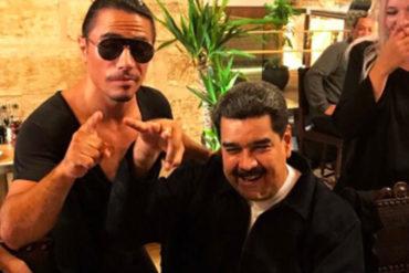 ¡Y EL PAÍS EN CRISIS! Esto costó a los venezolanos el mega banquete que se dieron Maduro y Cilia en el restaurante de Salt Bae (+factura de infarto)