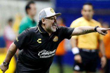 ¡MÍRELOS! Estos fueron los mejores memes del debut de Diego Maradona en Dorados de Sinaloa