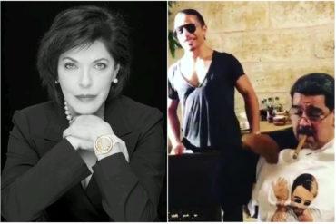 """¡SIN TAPUJOS! Lo que dijo Marianella Salazar sobre el """"reloj de oro"""" de Maduro en su divina cena en Turquía"""