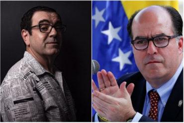 """¡CHISTOSO! El """"gemelo"""" de Julio Borges que se encontró Laureano Márquez en Perú (+Foto +no pararás de reír)"""