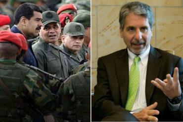 """¡CONTUNDENTE! Embajador Kevin Whitaker: """"Dudo de la capacidad de los militares venezolanos de montar una amenaza contra Colombia"""""""
