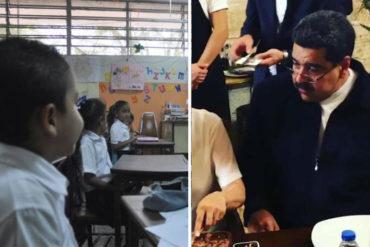 ¿Y ENTONCES? Mientras Maduro comía sabroso en Turquía, alertan que 179 planteles no podrán iniciar el año escolar (el gobierno ni pendiente)