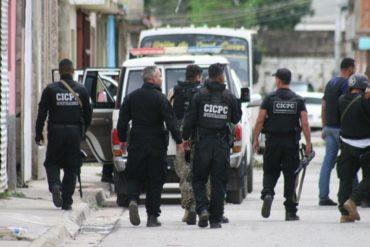 ¡URGENTE! Seis muertos en Aragua tras Operación Madriguera ejecutada por funcionarios del Cicpc