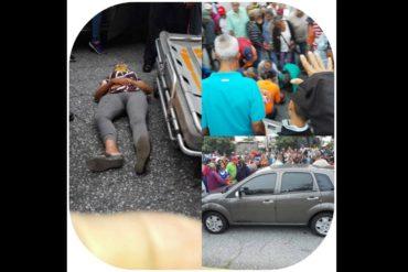 ¡TRÁGICO! Atropellaron a una pensionada frente a la Torre Bicentenario de Barquisimeto