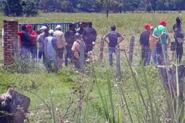 ¡ABUSO! Por orden presidencial y acompañado de funcionarios invasores tomaron finca en Táchira (+Fotos)