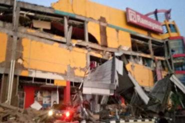 ¡UNA TRAGEDIA! Vea los daños que causó terremoto de 7.5 en Indonesia seguido de un tsunami (+Videos impactantes)
